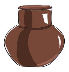 Round jug or color vector