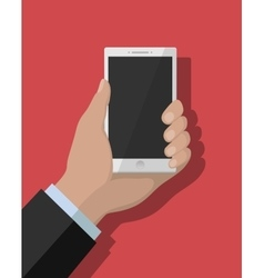 Smartphone flat concept vector image