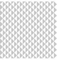 seamless pattern gray triangles vector image vector image