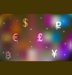 a currency exchange concept vector image