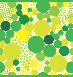 Abstract background with colorful bright circles vector