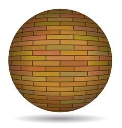 Brick Circle vector