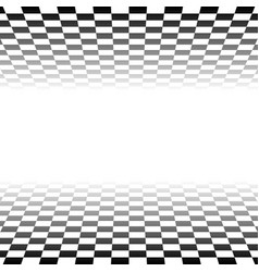 Checkered plane fading to transparent art vector