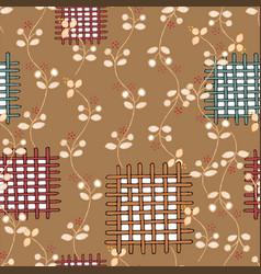 Decorative adornment seamless pattern vector