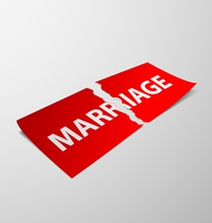 marriage Stock vector image