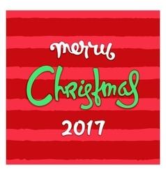 Modern Christmas design vector