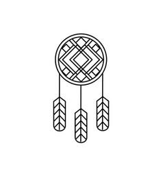 Native american indian design 03 vector