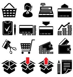 Trade symbol set vector