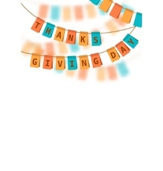Thanksgiving Day Colored vector image