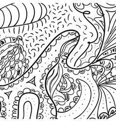 Rough sketch tribal vector image