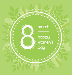 Beautiful background for international womens day vector