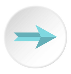 Big arrow icon circle vector