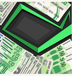 cover for currency exchange vector image