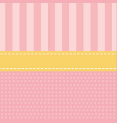 cute pattern background cartoon vector image