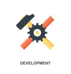 development icon concept vector image