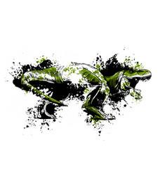 dinosaurus tyrannosaurus rex vector image