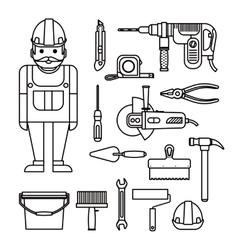 Diy home repairs power vector