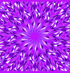 Dynamic abstract hypnotic geometrical circular vector