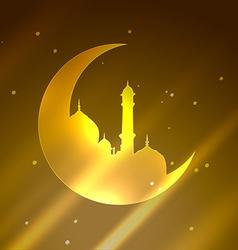 eid festival vector image