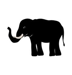 Elephant animal icon vector