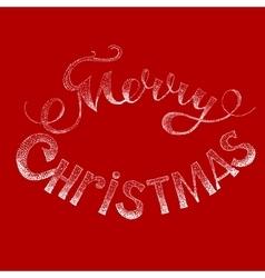 Merry Chrictmas vector image