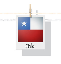 Photo of chile flag vector