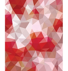 Polygonal template vector image