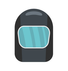 Protective mask icon flat style vector