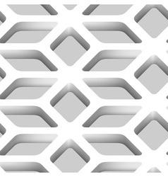 3D Lattice Seamless Pattern vector image vector image