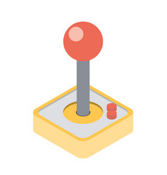 computer video game joystick vector image