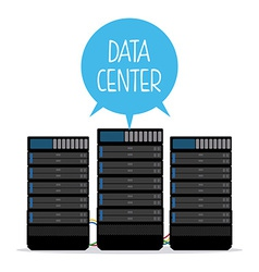 data center design vector image