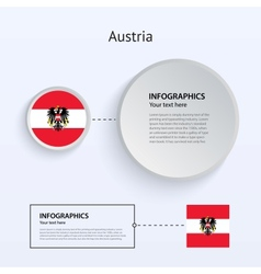 Austria Country Set of Banners vector