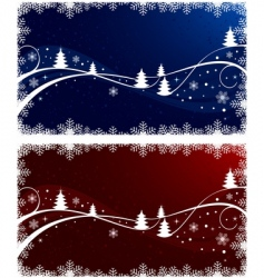 Christmas illustration set vector