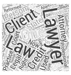 Lawyers are the most laughed off professionals vector