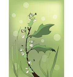 Bugs cartoon vector image vector image