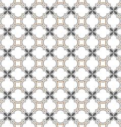 Monochrome seamless pattern islamic style vector image