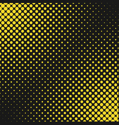 Abstract geometrical halftone dot pattern vector