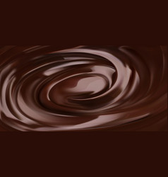 chocolate background 3d realistic vector image