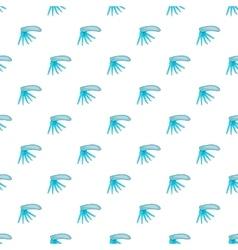Folding knife pattern cartoon style vector image