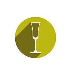 Lifestyle idea conceptual symbol classic champagne vector