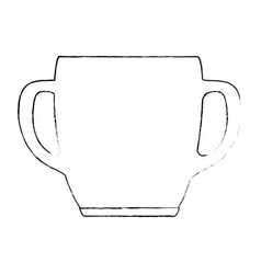 porcelain well isolated icon vector image
