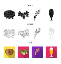 pub and bar logo vector image
