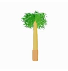 Royal palm icon cartoon style vector