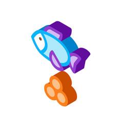 sea fish caviar isometric icon vector image