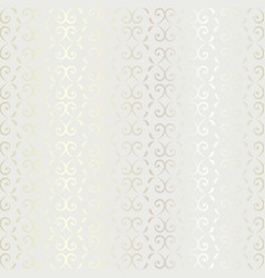 Seamless shiny luxury vintage pattern background vector