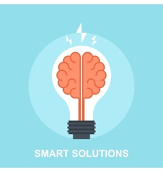 Smart Solutions vector image