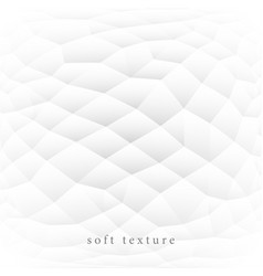 White soft texture abstract background vector