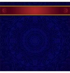 dark blue background for invitation vector image