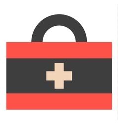 Medical kit vector image