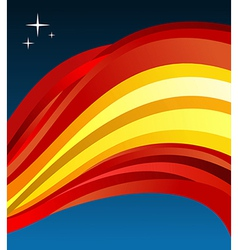 Spain flag background vector image